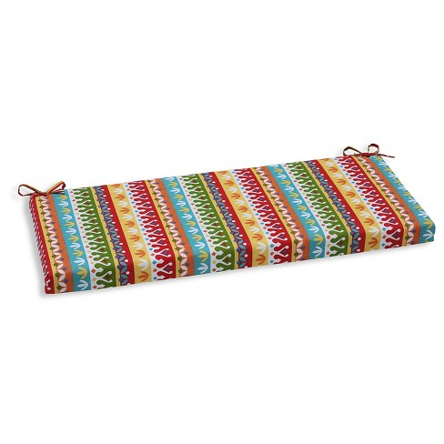 Pillow Perfect Cotrell Garden Outdoor Seat Cushion - Multi-colored - image 1 of 1