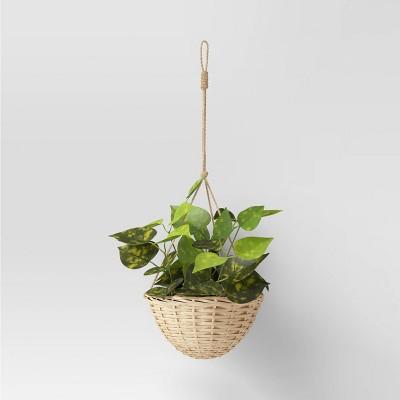Willow Woven Base Hanging Planter - Threshold™