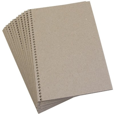 Sax Book Making Chipboard Covers, 6 x 9 Inches, pk of 24