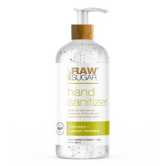 Raw Sugar Coconut + Lemon Verbena Hand Sanitizer - 9 fl oz