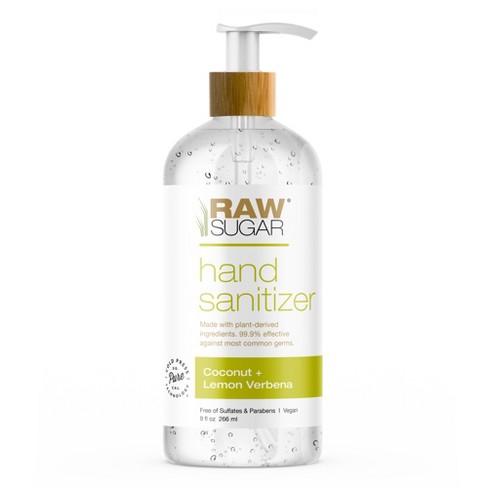 Raw Sugar Coconut + Lemon Verbena Hand Sanitizer - 9 fl oz - image 1 of 2