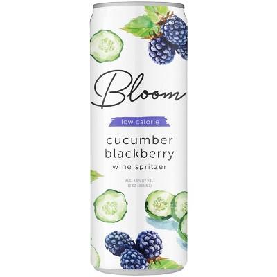 Bloom Cucumber Blackberry Wine Spritzer - 355ml Can