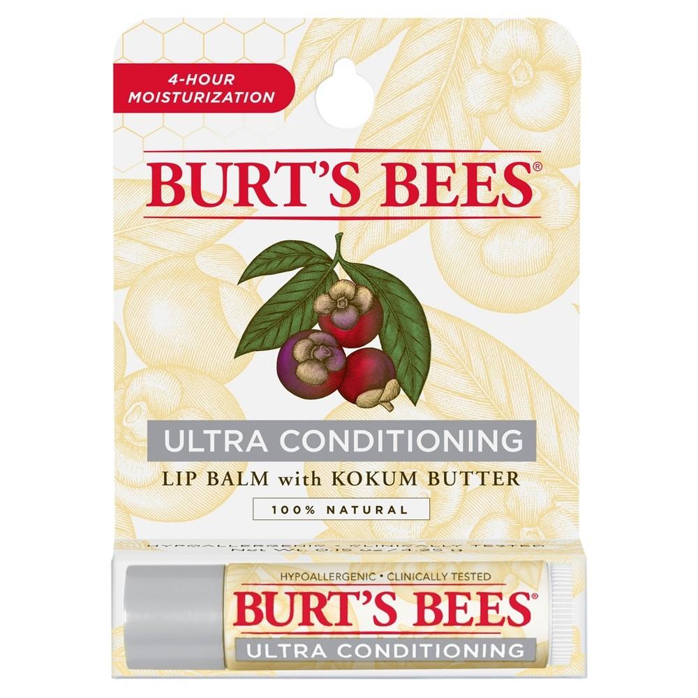 Burt's Bees Lip Balm Ultra Conditioning with Kokum Butter Blister Box 1 ct