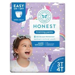 The Honest Company Training Pants Unicorns - Size 3T/4T (23ct)