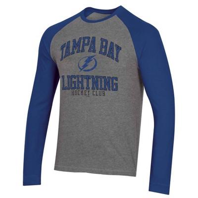 NHL Tampa Bay Lightning Men's Long Sleeve Raglan T-Shirt