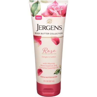 Jergens Rose Body Butter - 7 fl oz