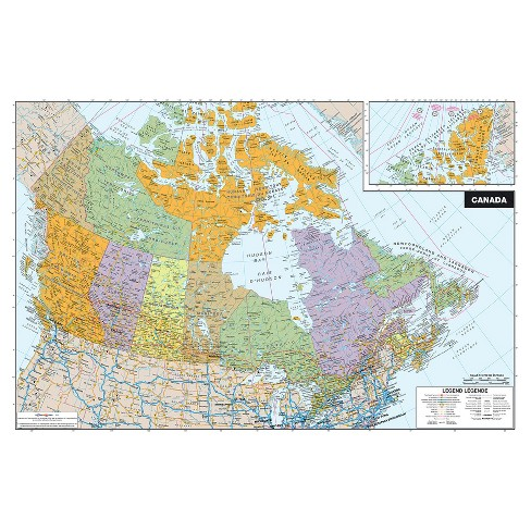 Map Of Canada Kids.Wall Pops White Board Map Of Canada