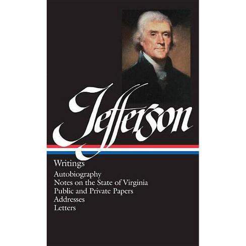 Thomas Jefferson: Writings (Loa #17) - (Library of America) (Hardcover) - image 1 of 1