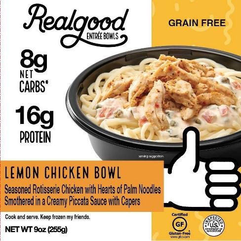 Real Good Frozen Lemon Chicken Bowl - 9oz - image 1 of 3