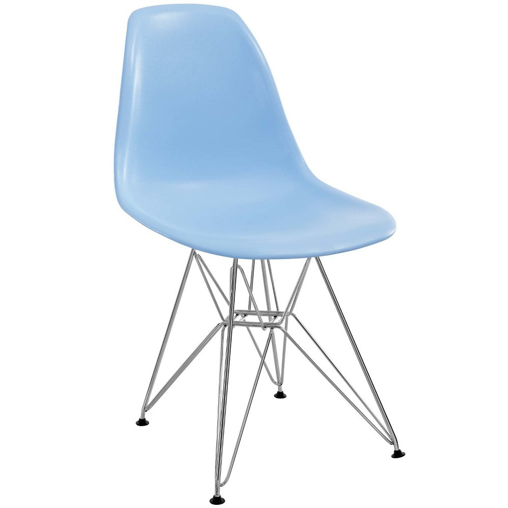 Paris Dining Side Chair Blue - Modway