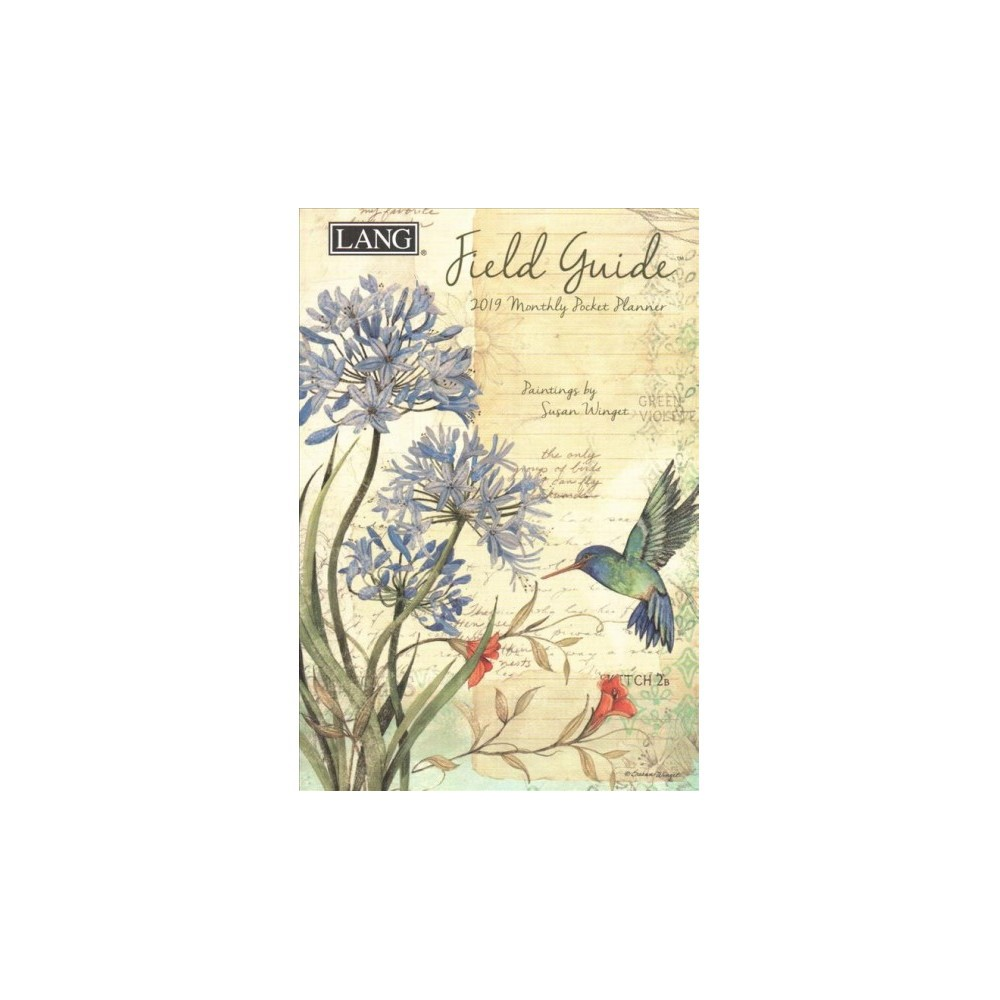 Field Guide 2019 Monthly Pocket Planner - (Paperback)