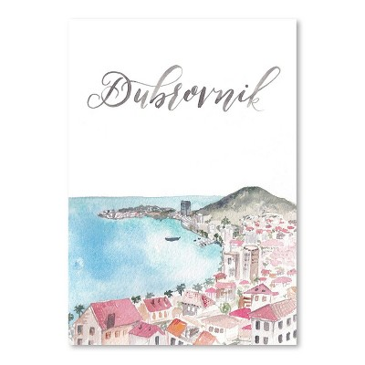 Americanflat Dubrovnik by Cami Monet Poster