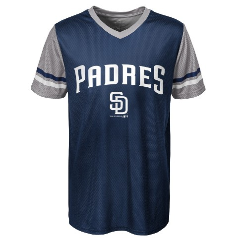 8b7bbae3fc2 MLB San Diego Padres Boys  Homerun Sublimated Jersey   Target