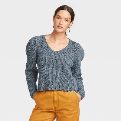 Women's V-Neck Pullover Sweater - Universal Thread™