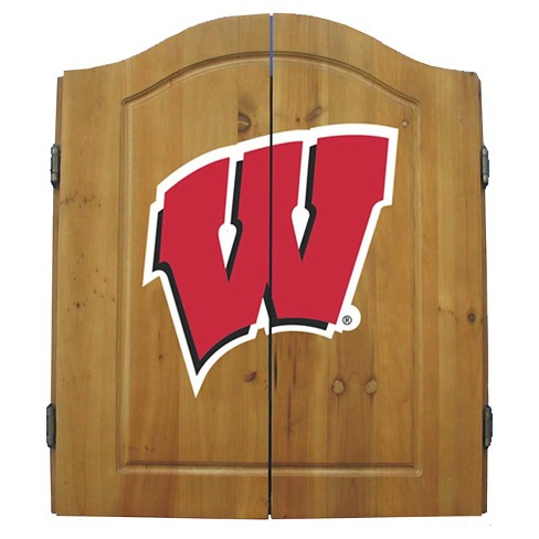 Wisconsin Badgers Imperial Dart Board - image 1 of 1