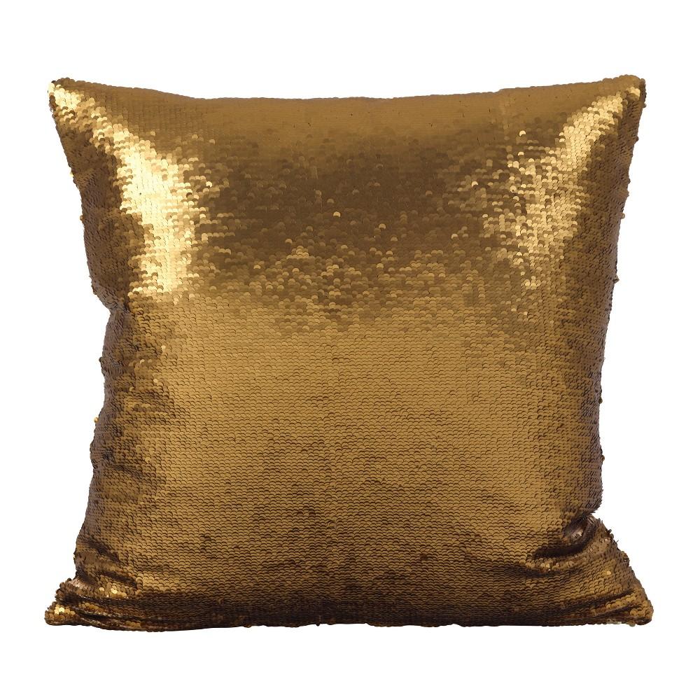 Throw Pillow Saro Lifestyle Brass