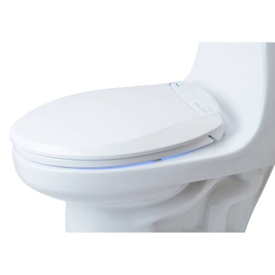 Lumawarm Heated Nightlight Elongated Toilet Seat White - Brondell