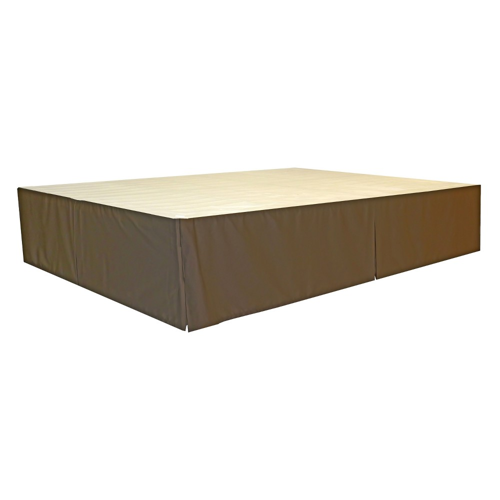The DuraBed Decorative Bed Skirt Brown - Epic Furnishings