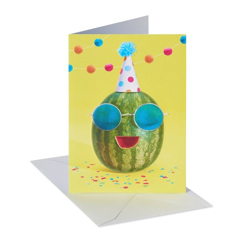 'You're one in a Melon' Birthday Card - image 1 of 4