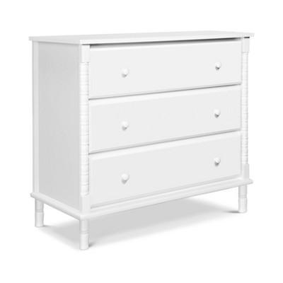 Davinci Jenny Lind Spindle 3-Drawer Dresser - White