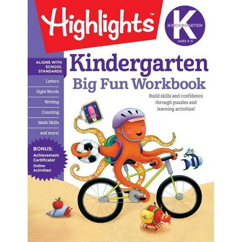 Big Fun Kindergarten Activity Book (Workbook) (Paperback) - image 1 of 1