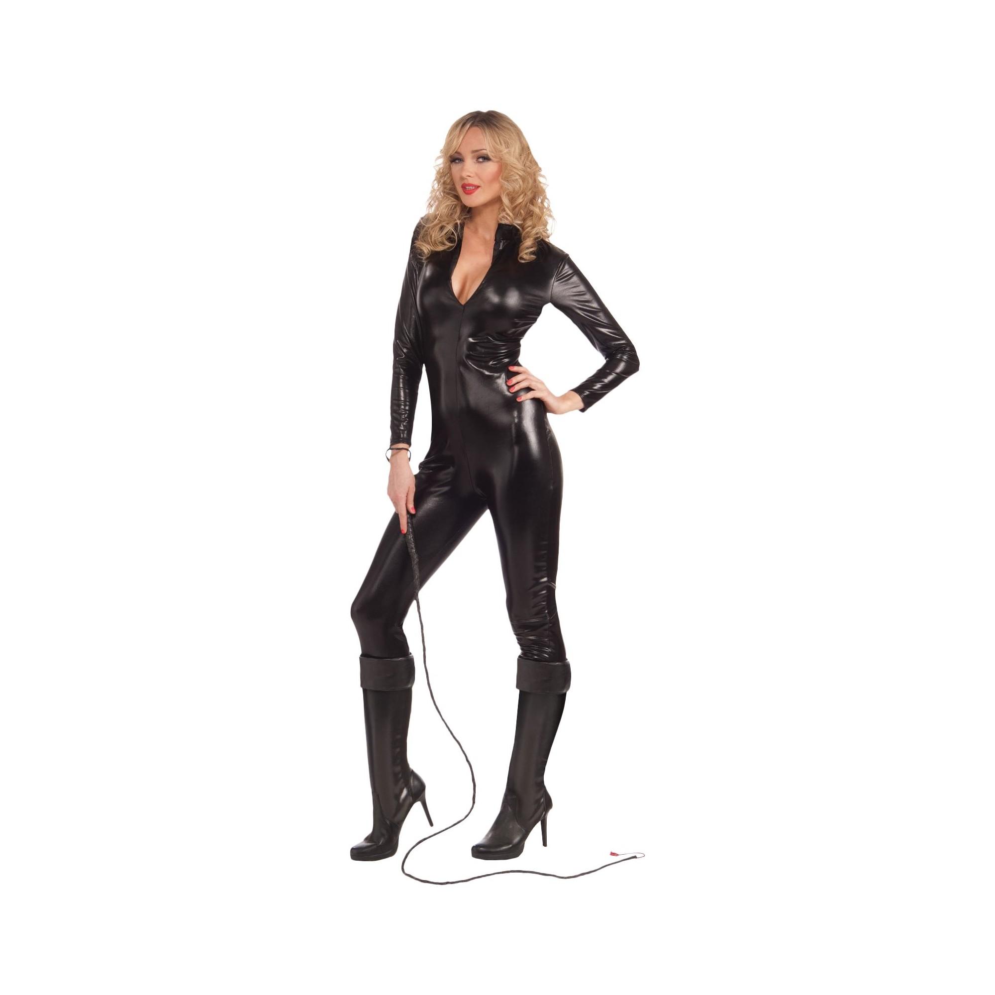 Halloween Women's Sleek N' Sassy Bodysuit Costume Small