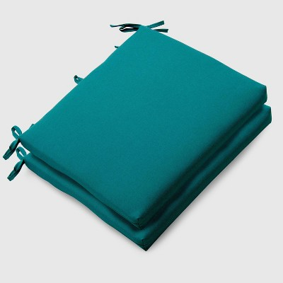 2pk Outdoor Seat Cushions Turquoise - Threshold™