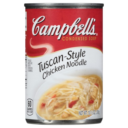 Campbell's Condensed Tuscan-Style Chicken Noodle Soup 10.5oz - image 1 of 4