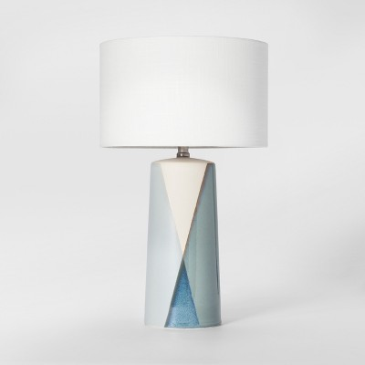 Cohasset Dipped Ceramic Table Lamp Blue Lamp Only - Project 62™