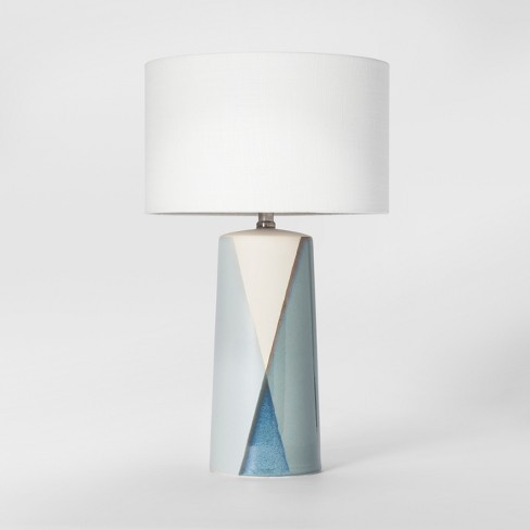 Cohasset Dipped Ceramic Table Lamp Blue Lamp Only