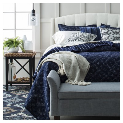 Casual Blue Bedroom Collection