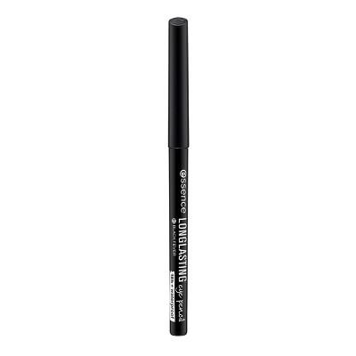 essence Long Lasting Eye Pencil - 01 Black Fever - 0.01oz