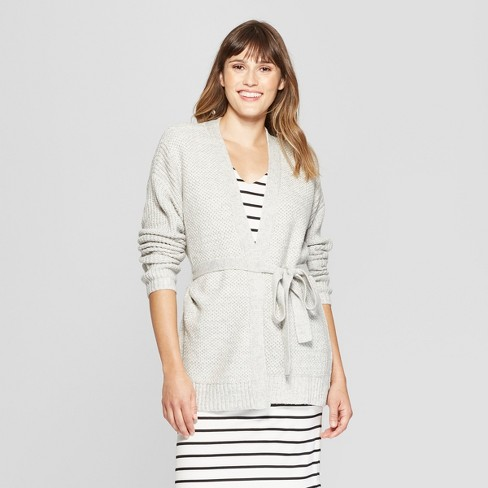 Women s Belted Open Layering Cardigan Sweater - A...   Target c7222a571