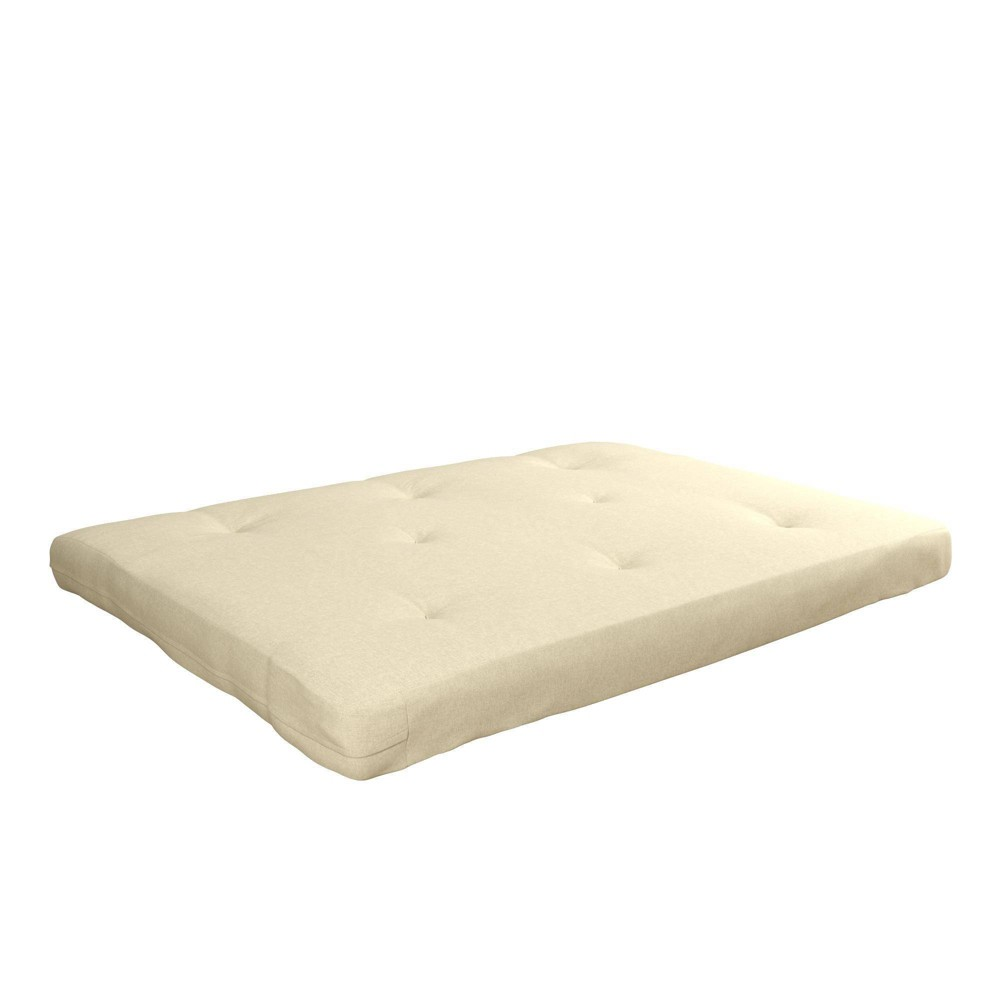 "Image of ""6"""" Full Coil Futon Mattress Certipur Foam Beige - Room & Joy"""