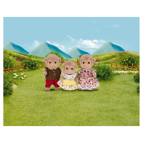Calico Critters Mango Monkey Family - image 1 of 2
