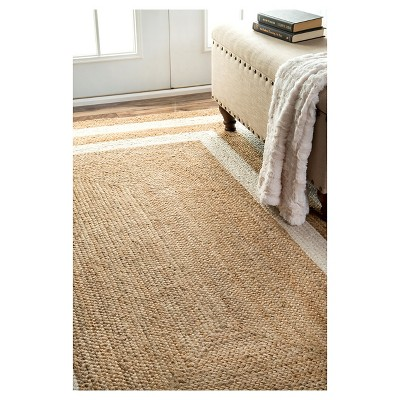 'White Solid Loomed Area Rug - (8'6''x11'6'') - nuLOOM, Size: 8' 6'' x 11' 6'''
