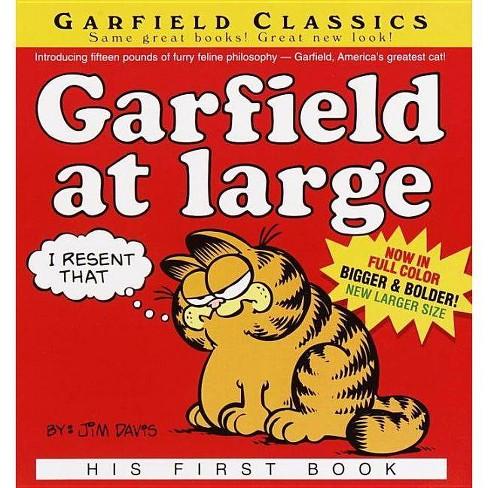 Garfield at Large - (Garfield Classics (Pb)) by  Jim Davis (Hardcover) - image 1 of 1