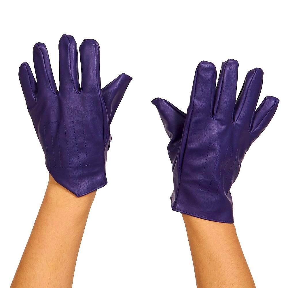 Kids' DC Comics The Dark Knight The Joker Gloves Purple - One Size Fits Most, Boy's
