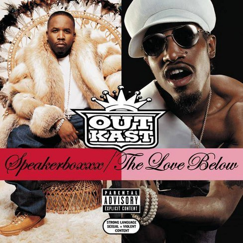 OutKast - Speakerboxxx/The Love Below [Explicit Lyrics] (CD) - image 1 of 1