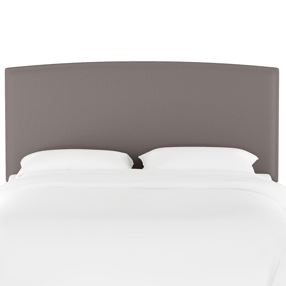 Upholstered Headboard Full Velvet Gray - Opalhouse