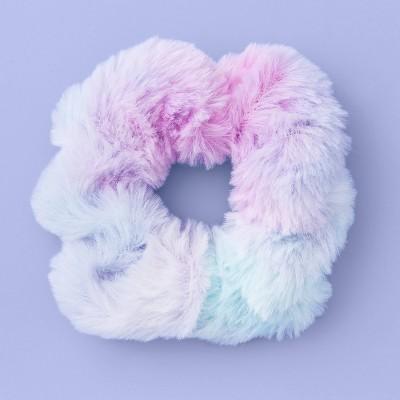 Girls' Tie-Dye Faux Fur Twister - More Than Magic™ Purple