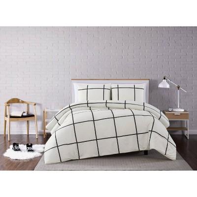 Truly Soft Everyday Kurt Windowpane Comforter Set