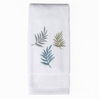 Maui Embroidered Hand Towel White - Saturday Knight Ltd.