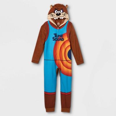 Boys' Tune Squad Union Suit - Brown