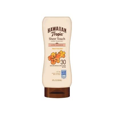 Hawaiian Tropic Sheer Touch Ultra Radiance Lotion Sunscreen - SPF 30 - 8oz
