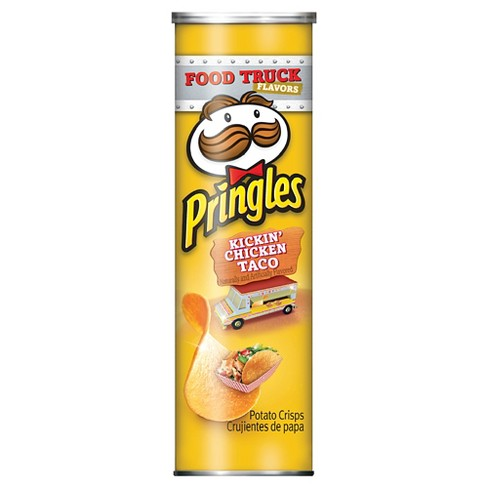 Pringles Kickin' Chicken Taco Potato Crisps - 5.96oz - image 1 of 1