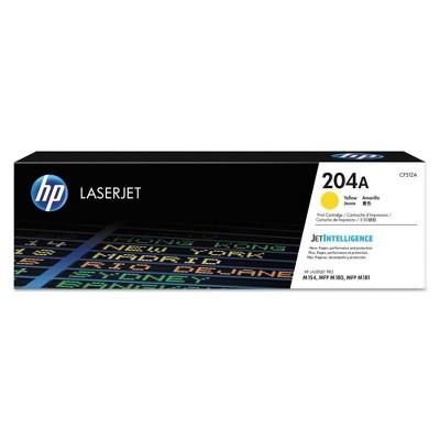 HP 204A LaserJet Toner Cartridge - Yellow (CF512A)