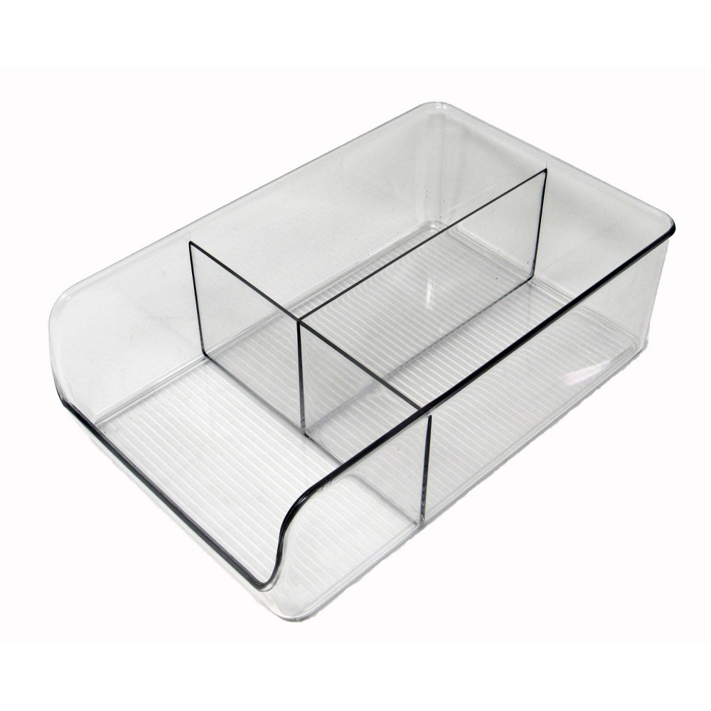 Dial Organizer With Dividers Clear