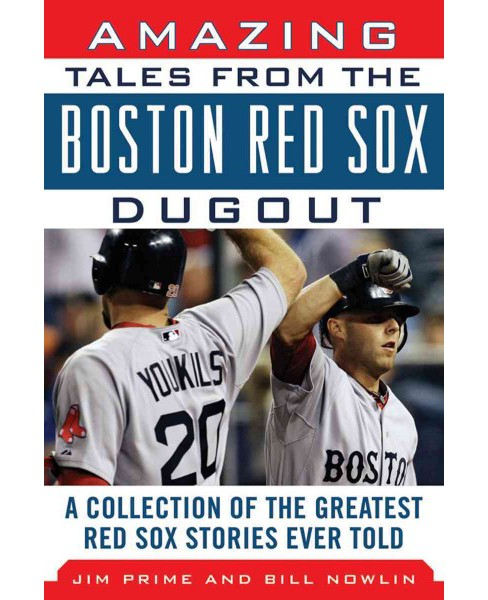 Amazing Tales from the Boston Red Sox Dugout (Hardcover) - image 1 of 1