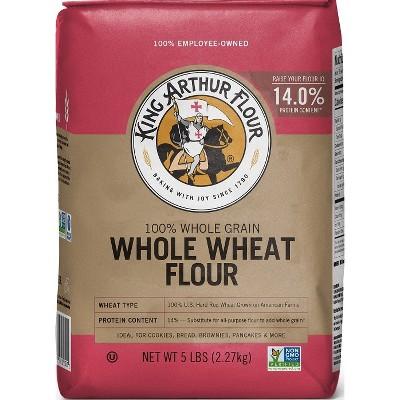 Flours & Meals: King Arthur Whole Wheat Flour